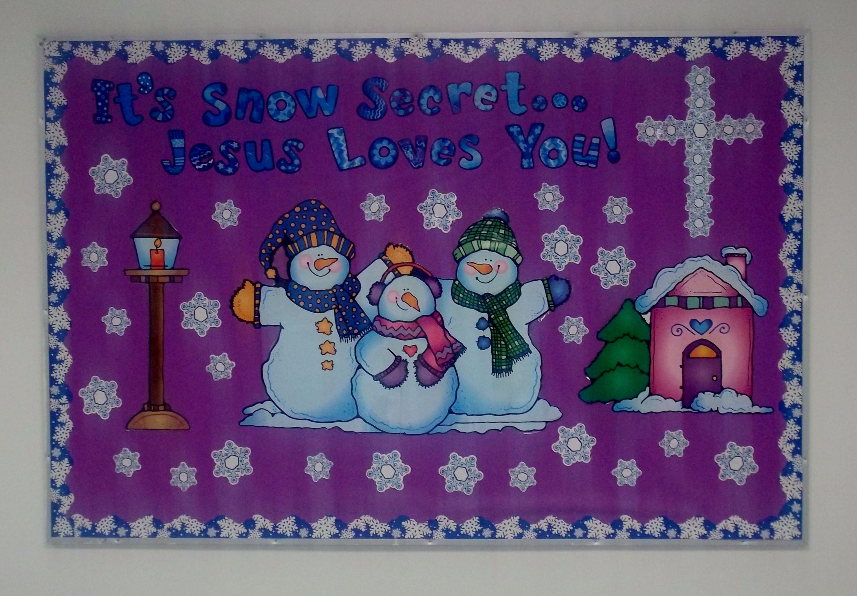 pinterest winter bulletin boards | just b.CAUSE