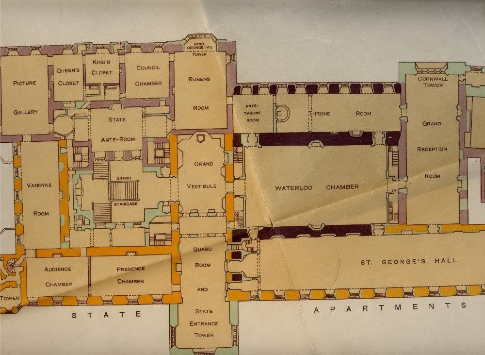windsor castle floor plan related keywords amp suggestions sir w h st john hope windsor castle ground floor plan