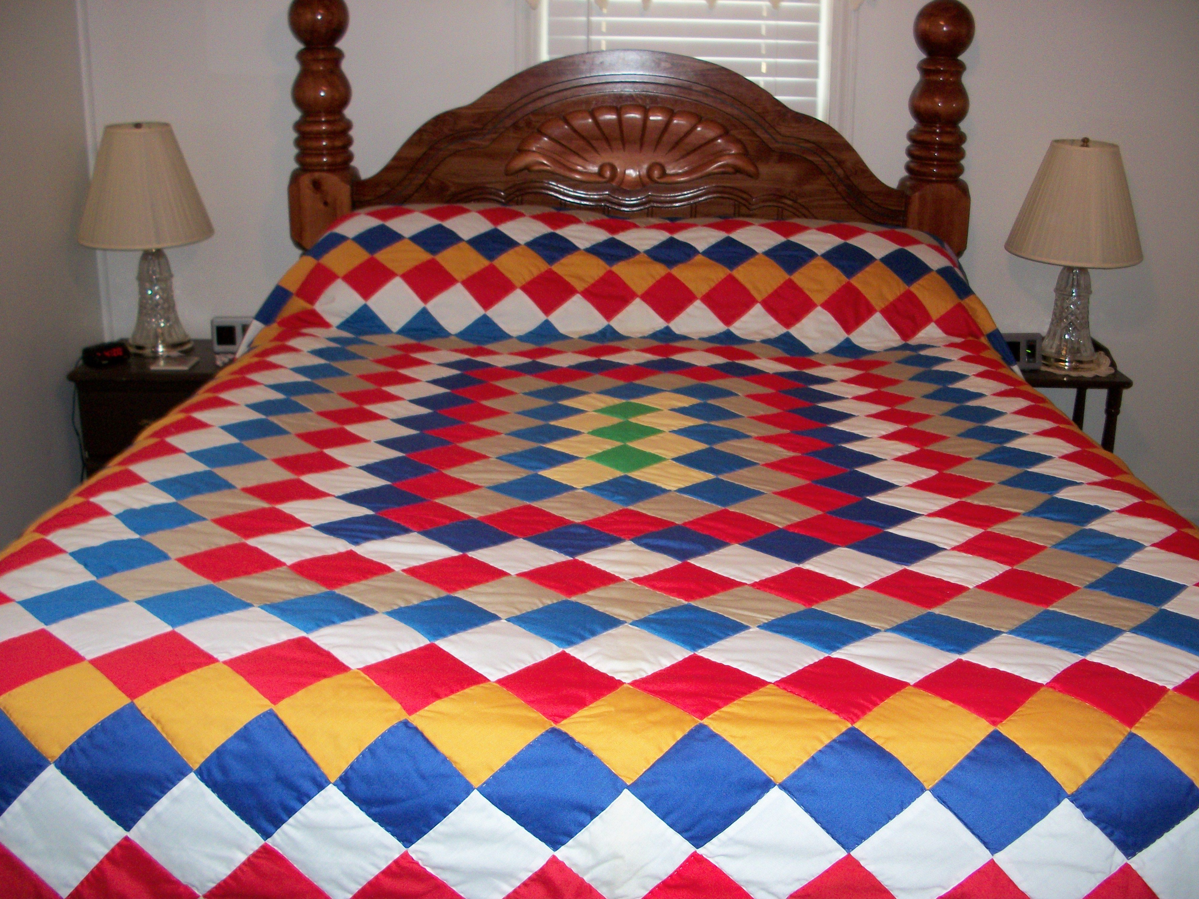 Quilt In A Day Patterns Trip Around The World : My quilt, trip around the world pattern Quilts Pinterest