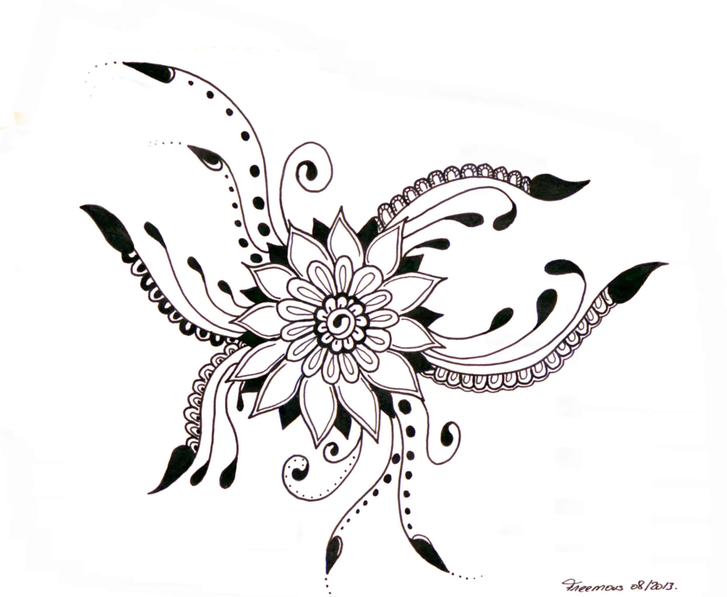 zentangle coloring pictures