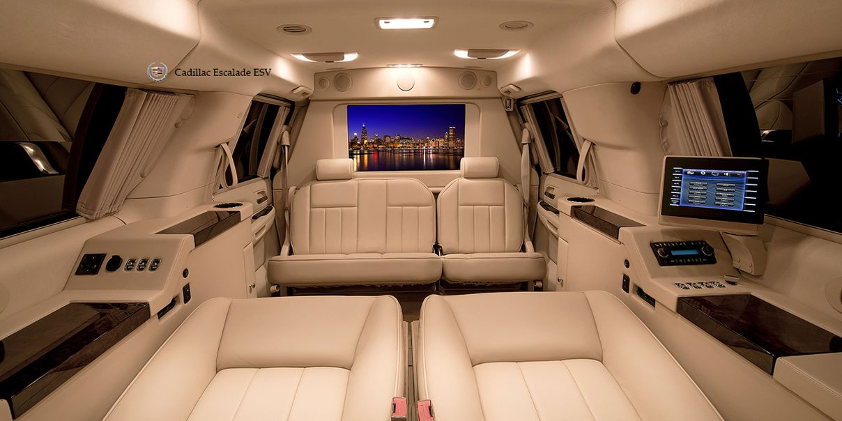 Cadillac escalade executive conversion submited images
