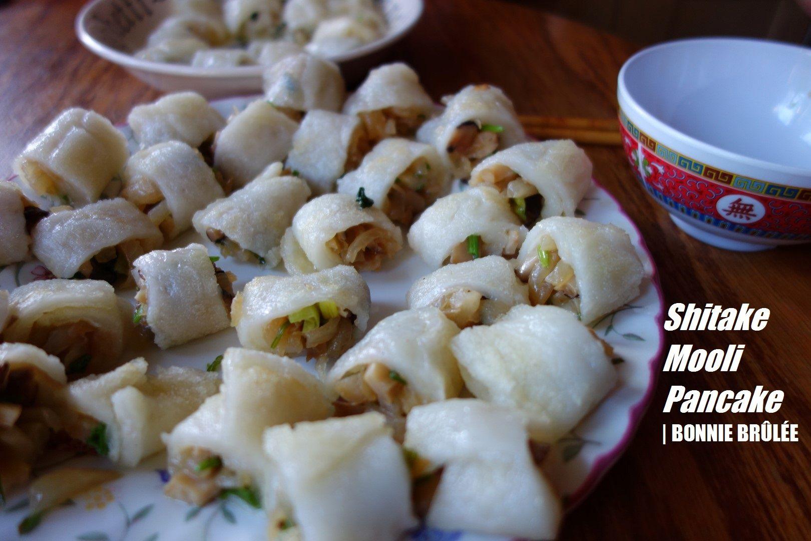 Shitake and Mooli Pancakes | I want to eat | Pinterest