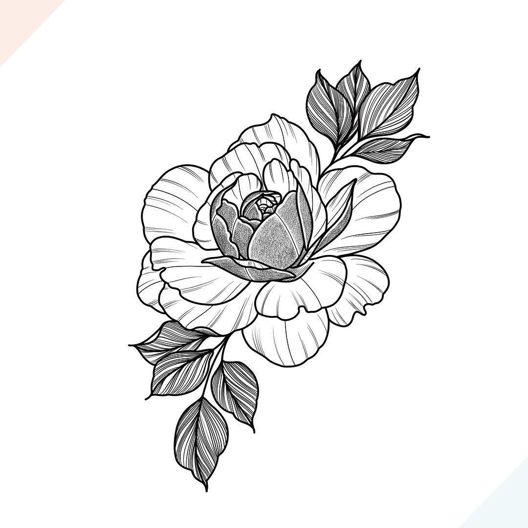 Черные простые татуировки