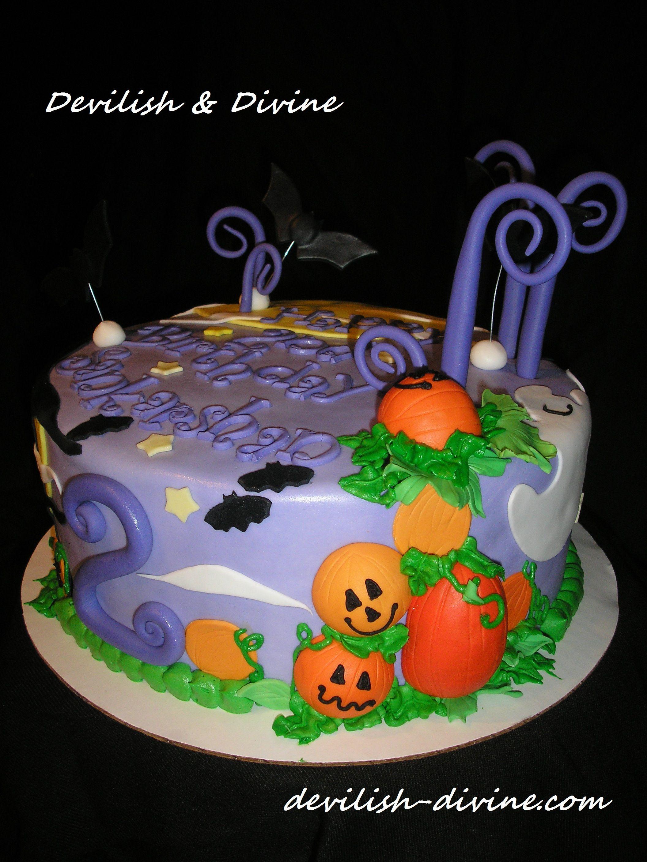 Halloween Birthday Cake Cool Kids 39 Cakes Pinterest