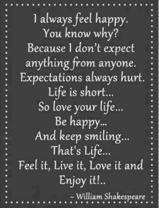 expectations quotes pinterest