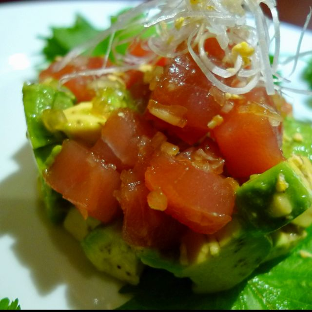 Ahi poke ahi poke. | yummy food ideas | Pinterest