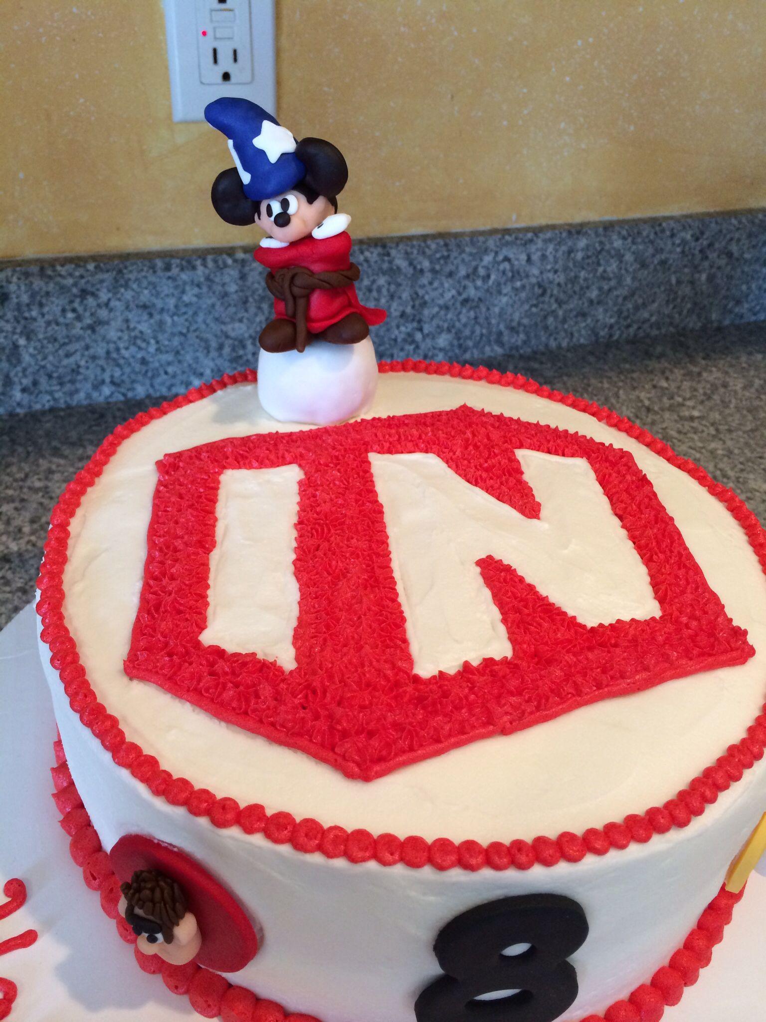 Disney Infinity Birthday Cake