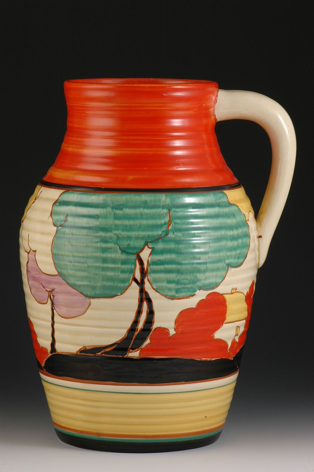 clarice cliff In 1930, when clarice cliff became art director of newport pottery, she achieved the distinction of being the first woman to reach such a high echelon in the potteries.
