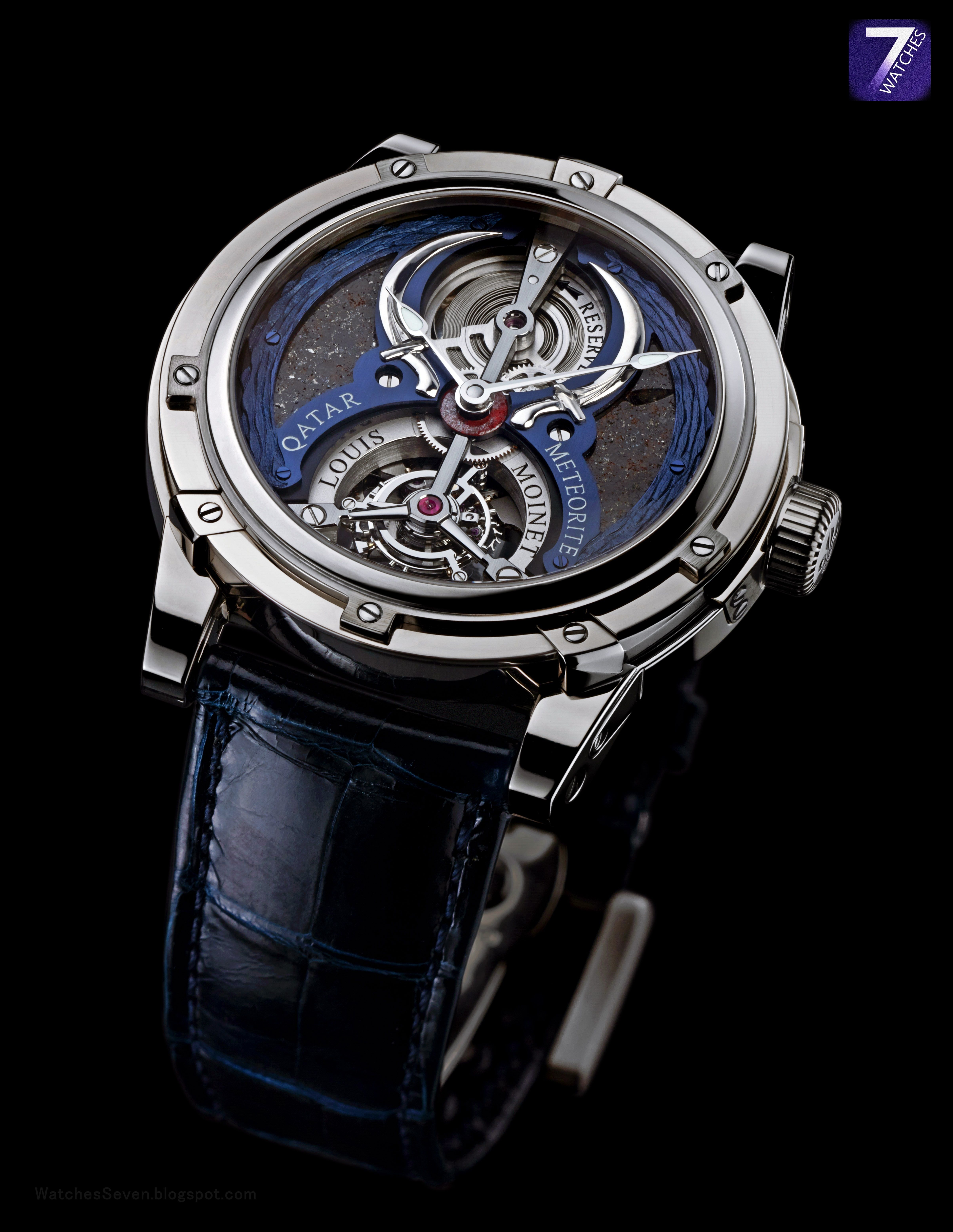 Watches 7 louis moinet qatar tourbillon limited edition for Louis moinet watch