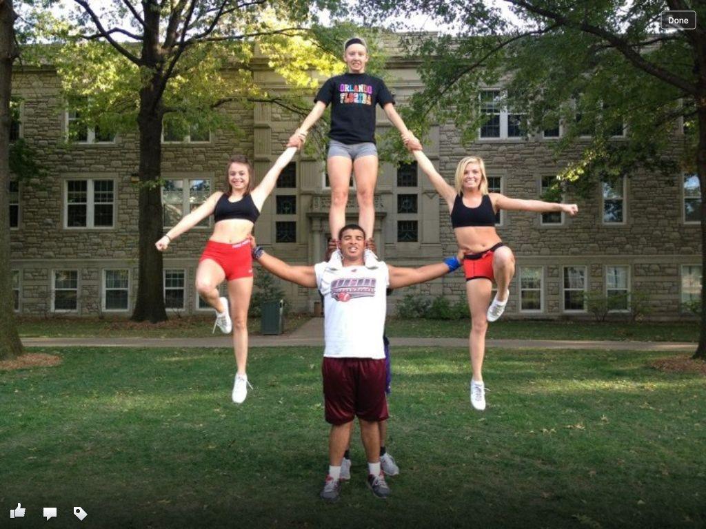 Cheerleading Stunt Straps By Vronique