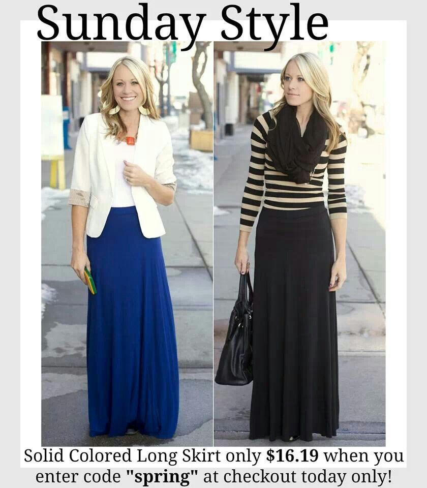 maxi skirts work clothes