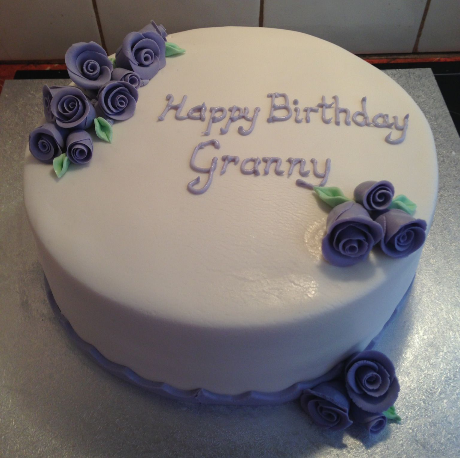 90th Birthday Cake Cake Decorating Pinterest