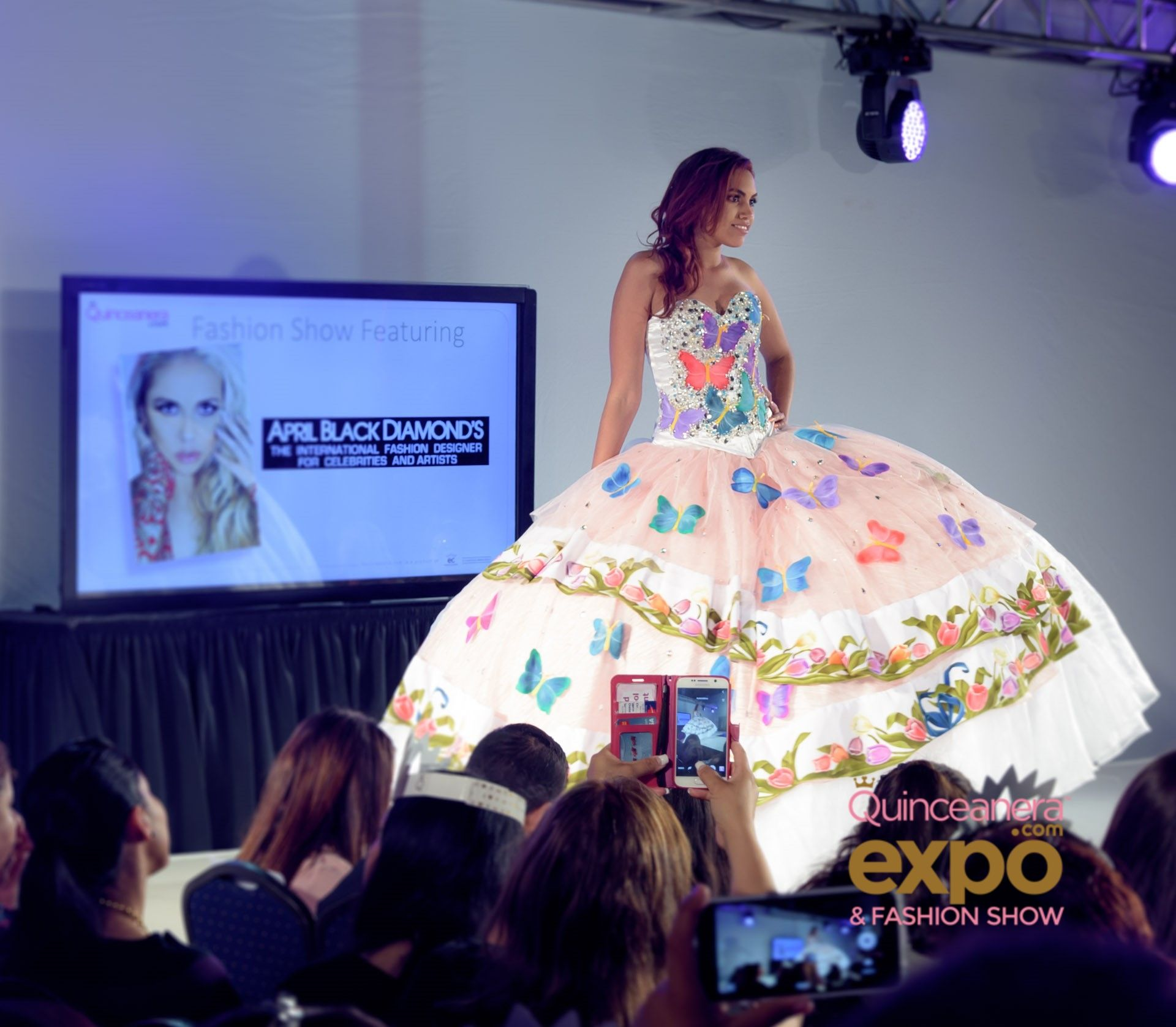 Quinceanera dresses fashion show 28