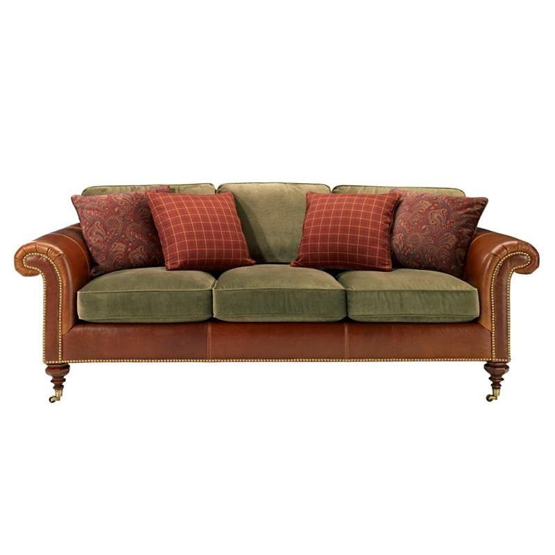 Leather ralph lauren sofa for Sofa 70 cm de fondo