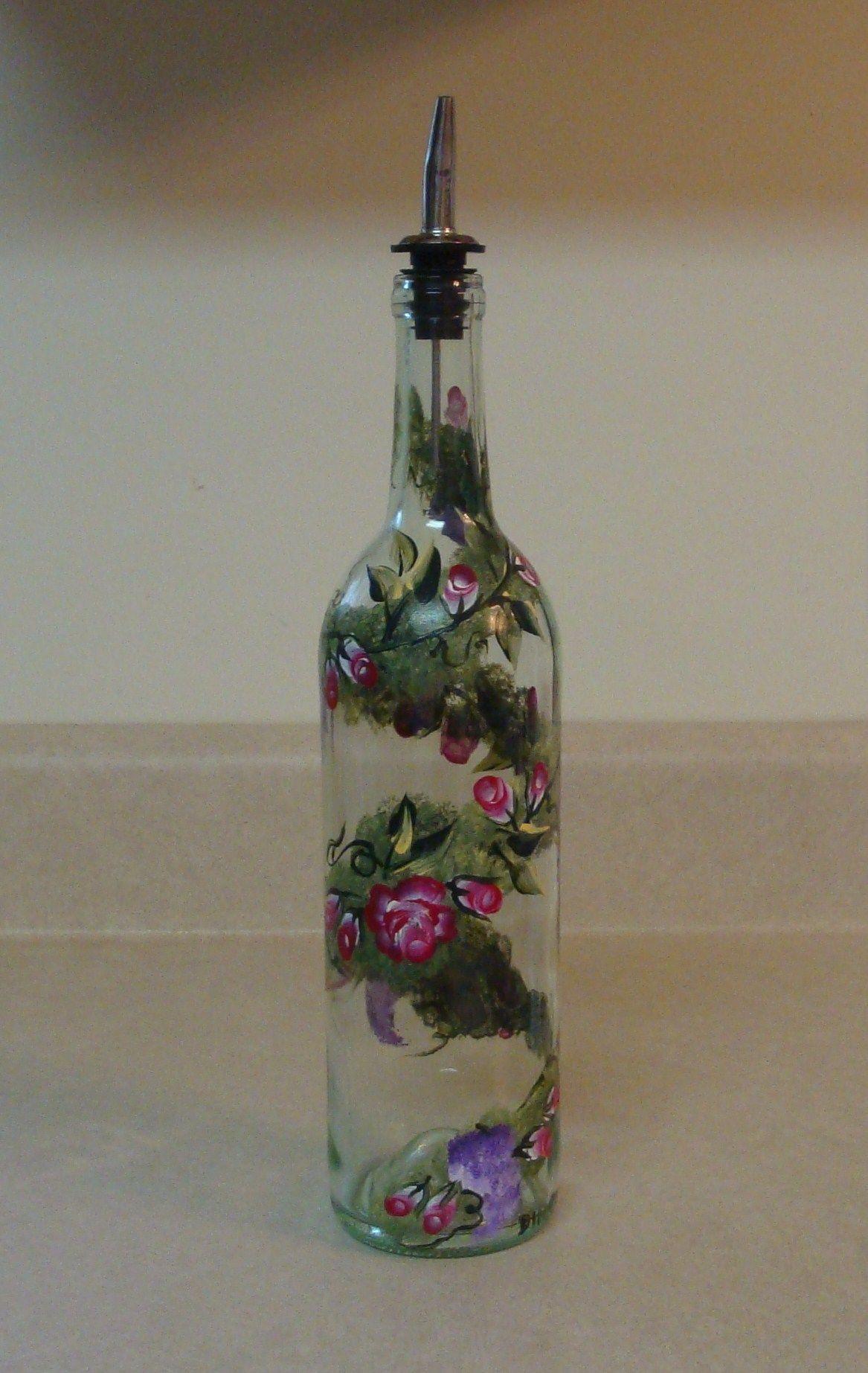 hand painted wine bottles craft ideas pinterest