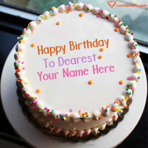 Birthday Cake With Name And Photo Edit Option For Brother