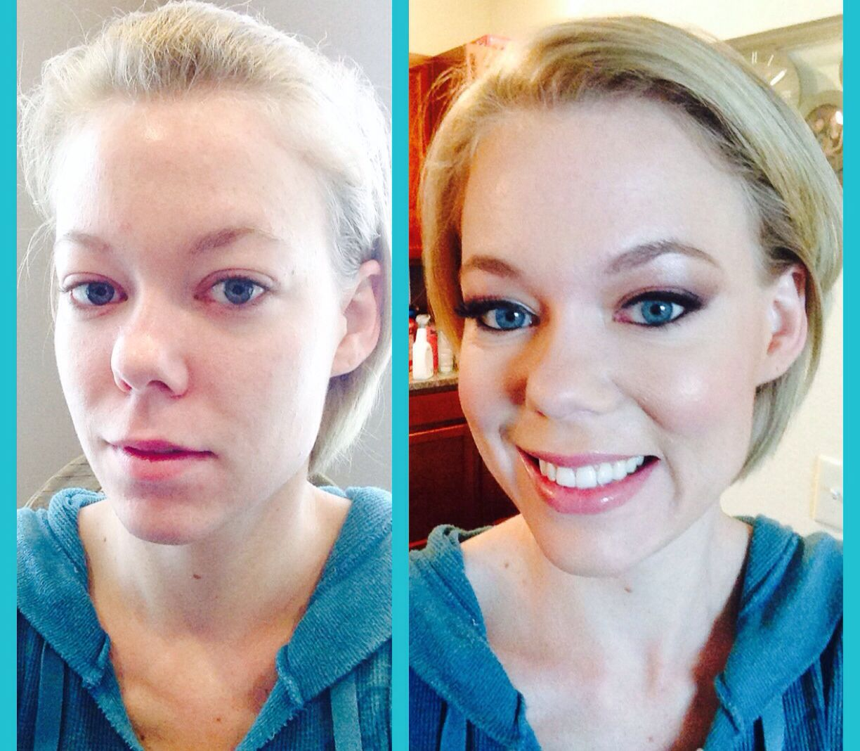 Airbrush Bridal Makeup Before And After : Airbrush makeup before and after Wedding Stuff Pinterest