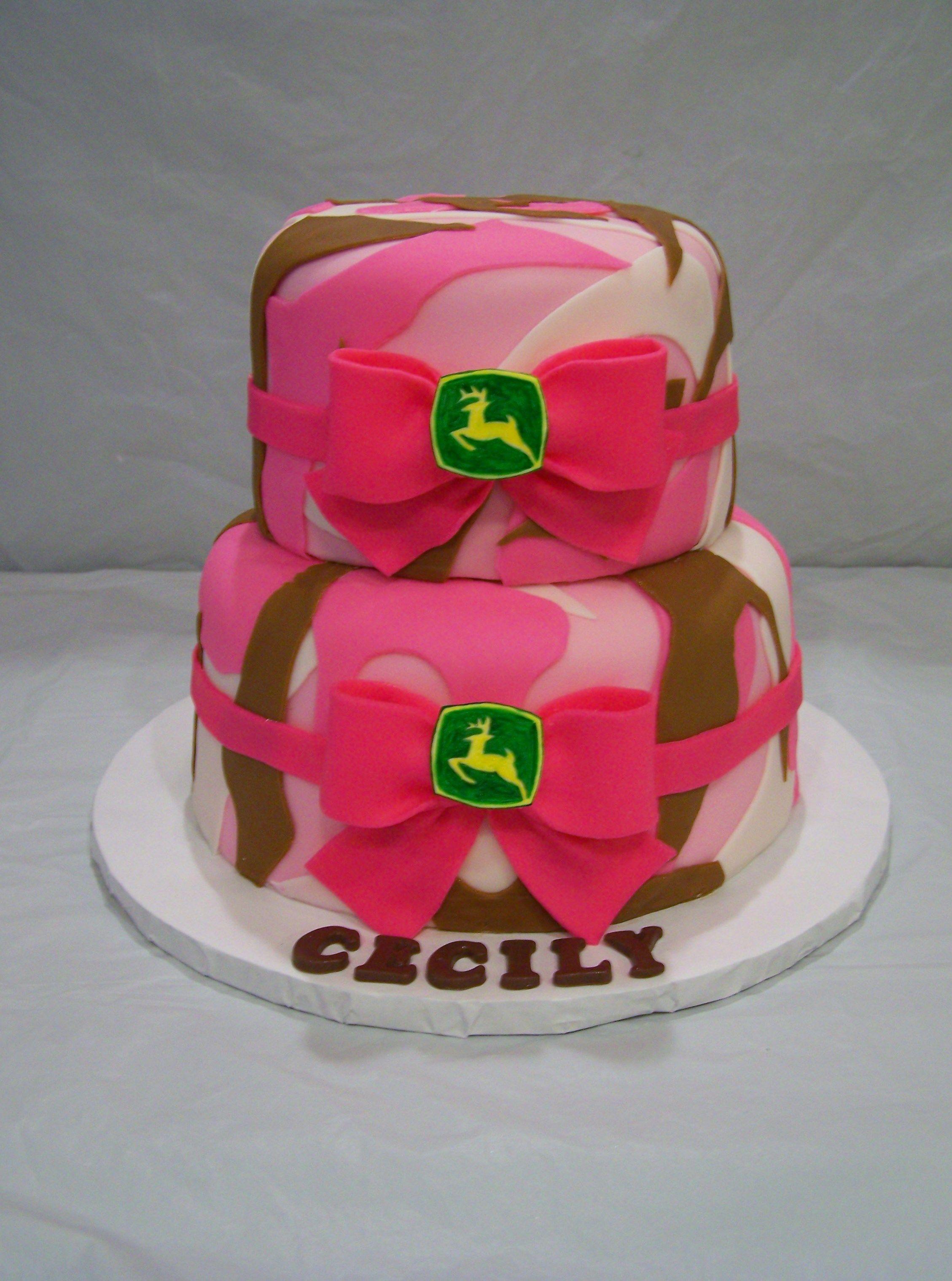 Pink Camo Cake Images : pink camo cake Cakes: Theme Pinterest