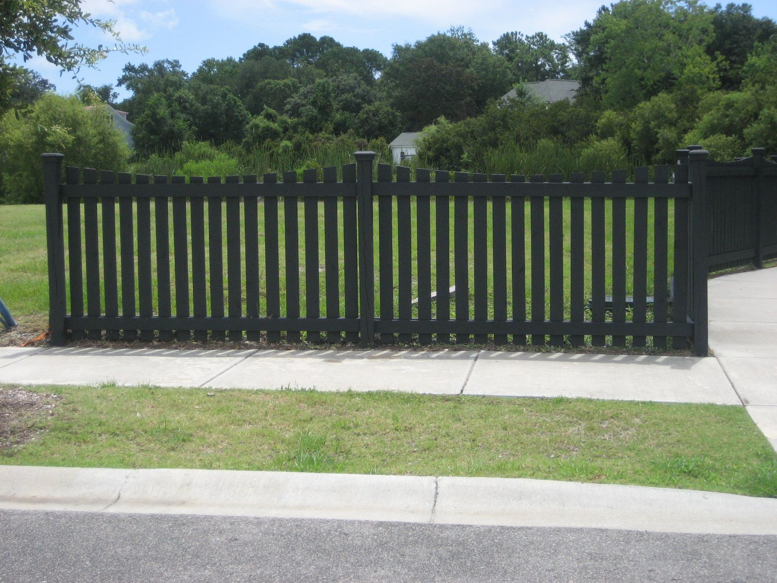 painted fence decorating outdoors pinterest