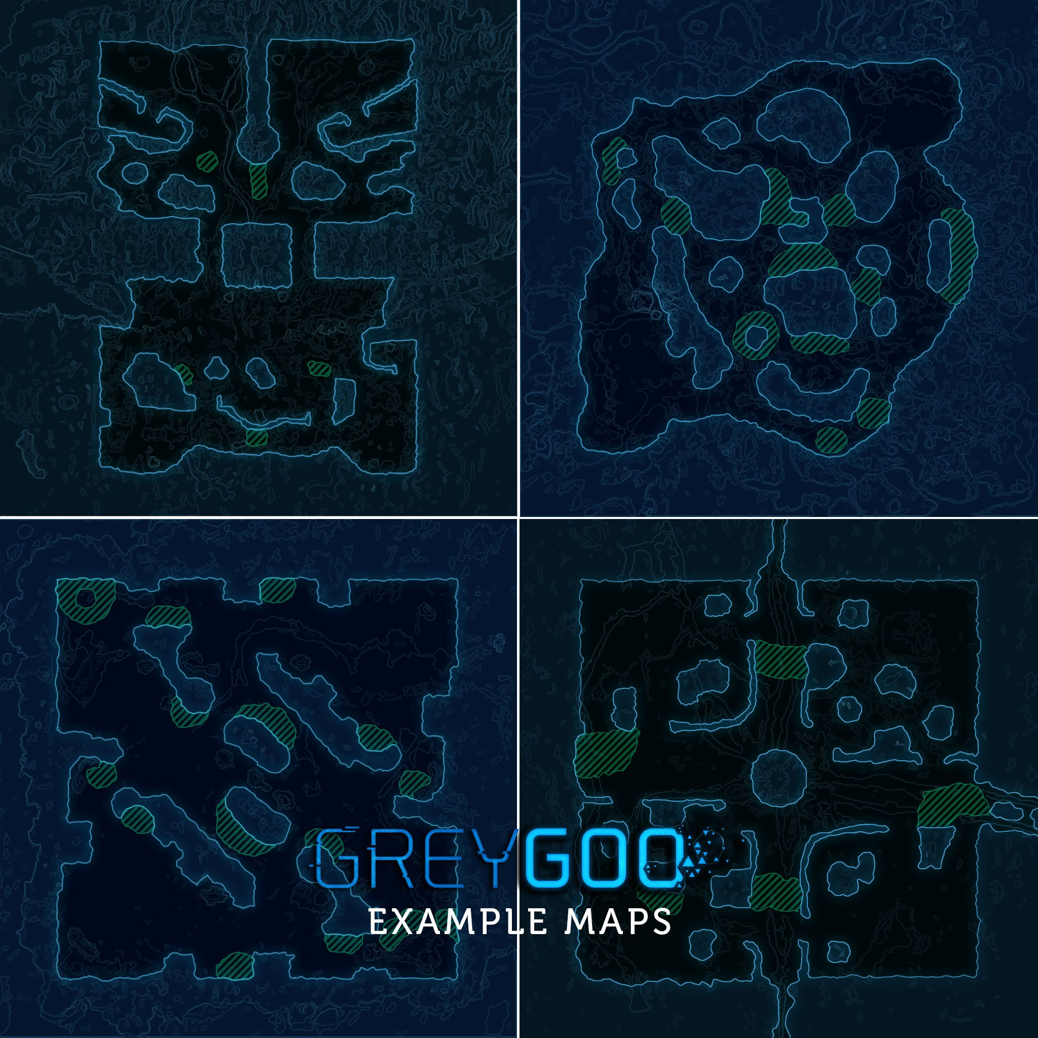 how many maps will the game launch with grey goo