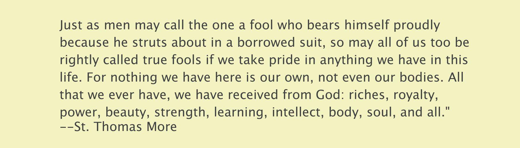 Saint Thomas More Quotes