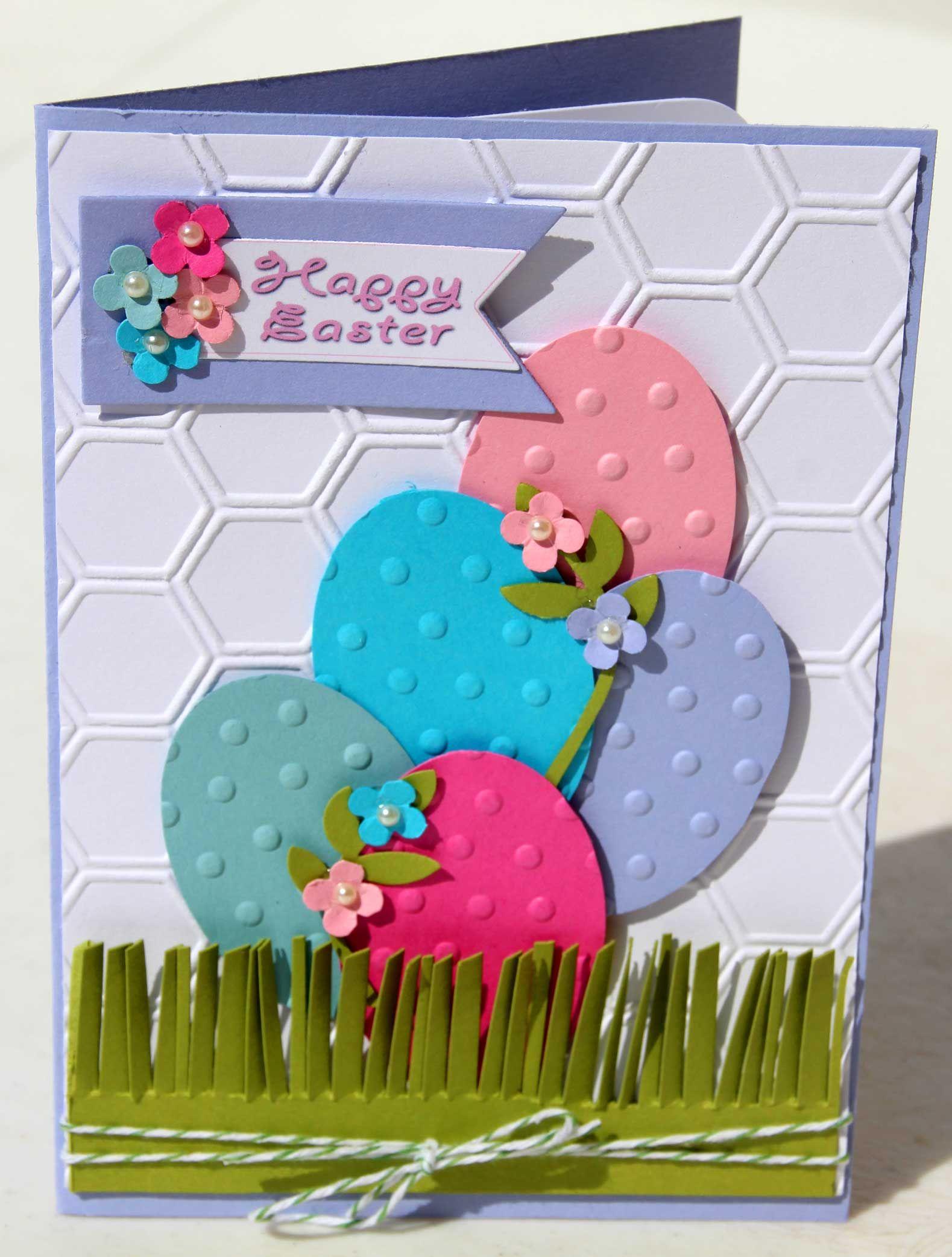 Easter Card 1 | My Card Making Efforts | Pinterest