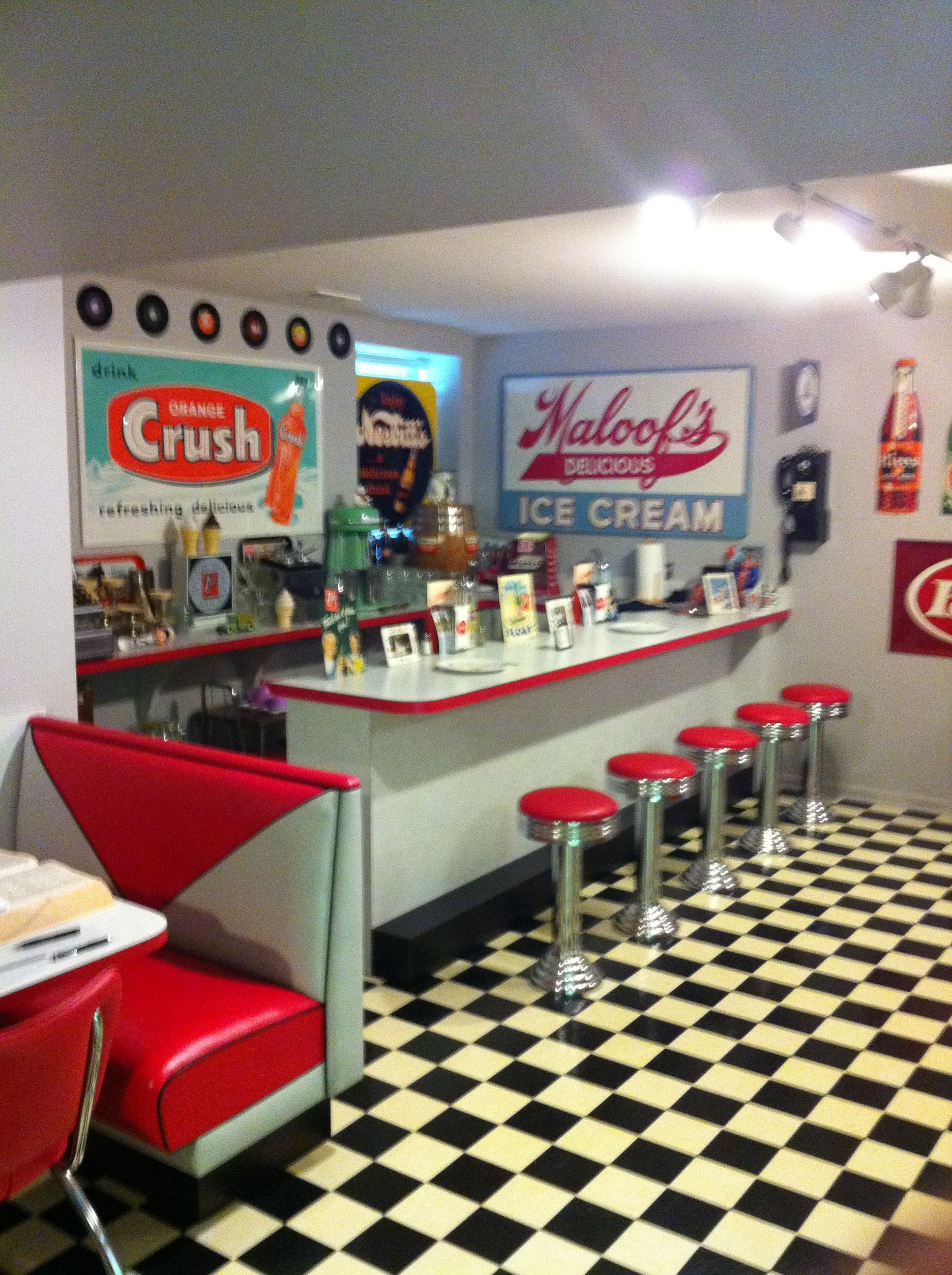 Pinterest discover and save creative ideas for Diner home decor