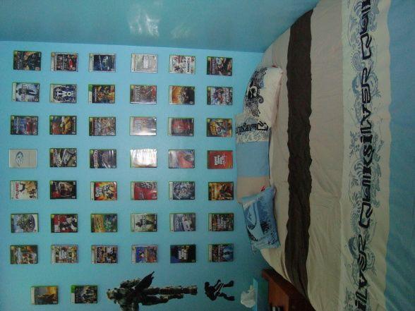 teen boy xbox bedroom   Kids   Pinterest