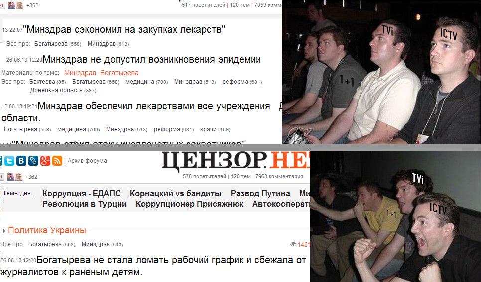 Богатырева оставила без прививок половину украинцев: ГПУ просят разобраться - Цензор.НЕТ 6399