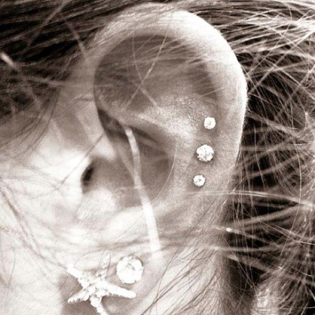 Ear piercings are so cute | Piercing, tattoos n cars ...