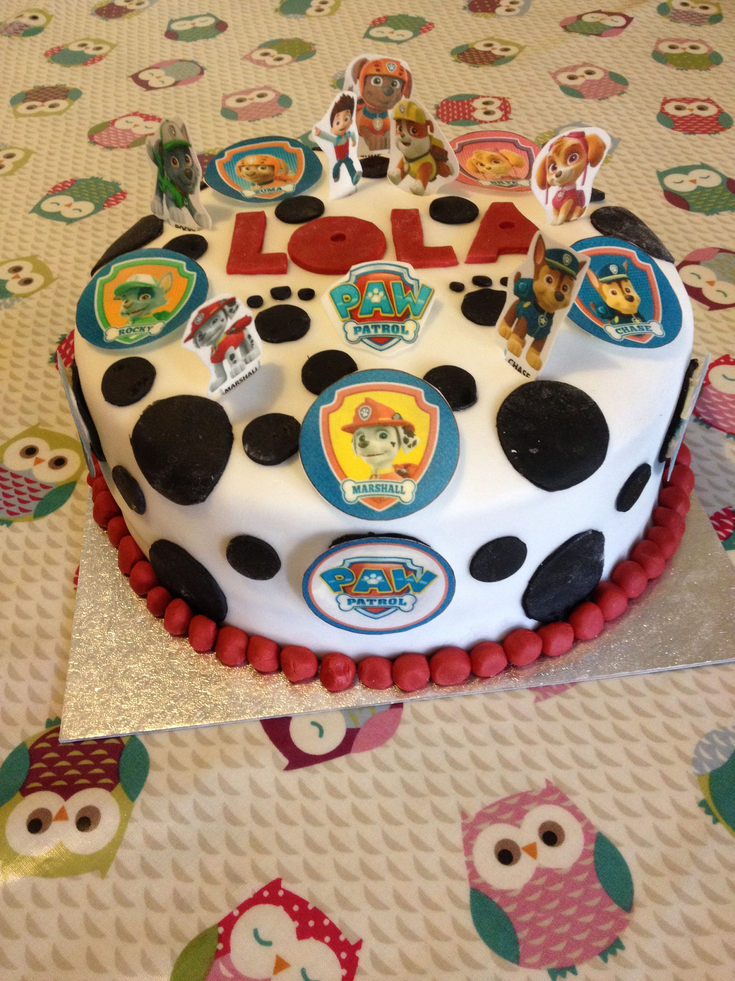 Paw Patrol Images For Cake : Paw patrol cake Future Birthday Parties Pinterest