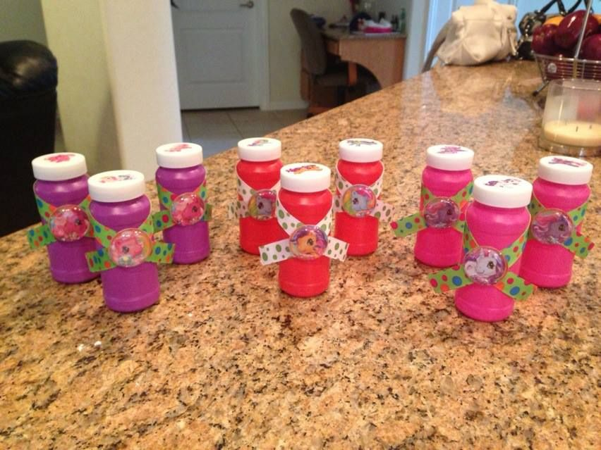 my little pony diy party favors birthday party ideas pinterest