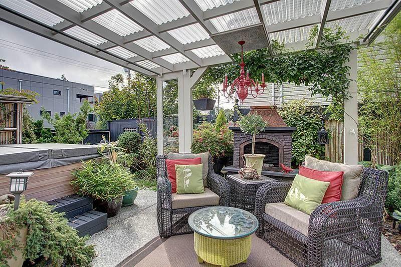 patio design idea photos