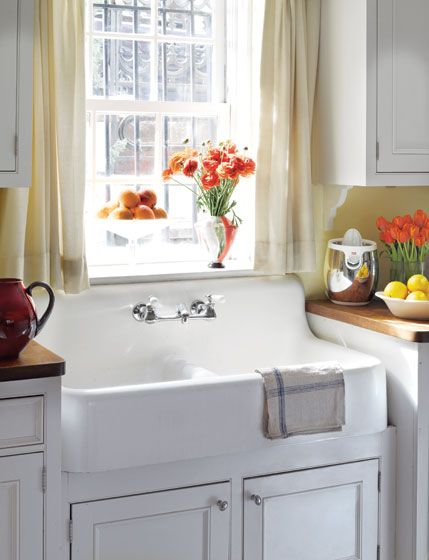 Country Kitchen Sink : Country kitchen sink Style at home Pinterest