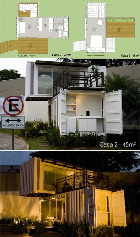 1000 images about shipping container living on pinterest guest houses container architecture - Most beautiful shipping container guest house ...