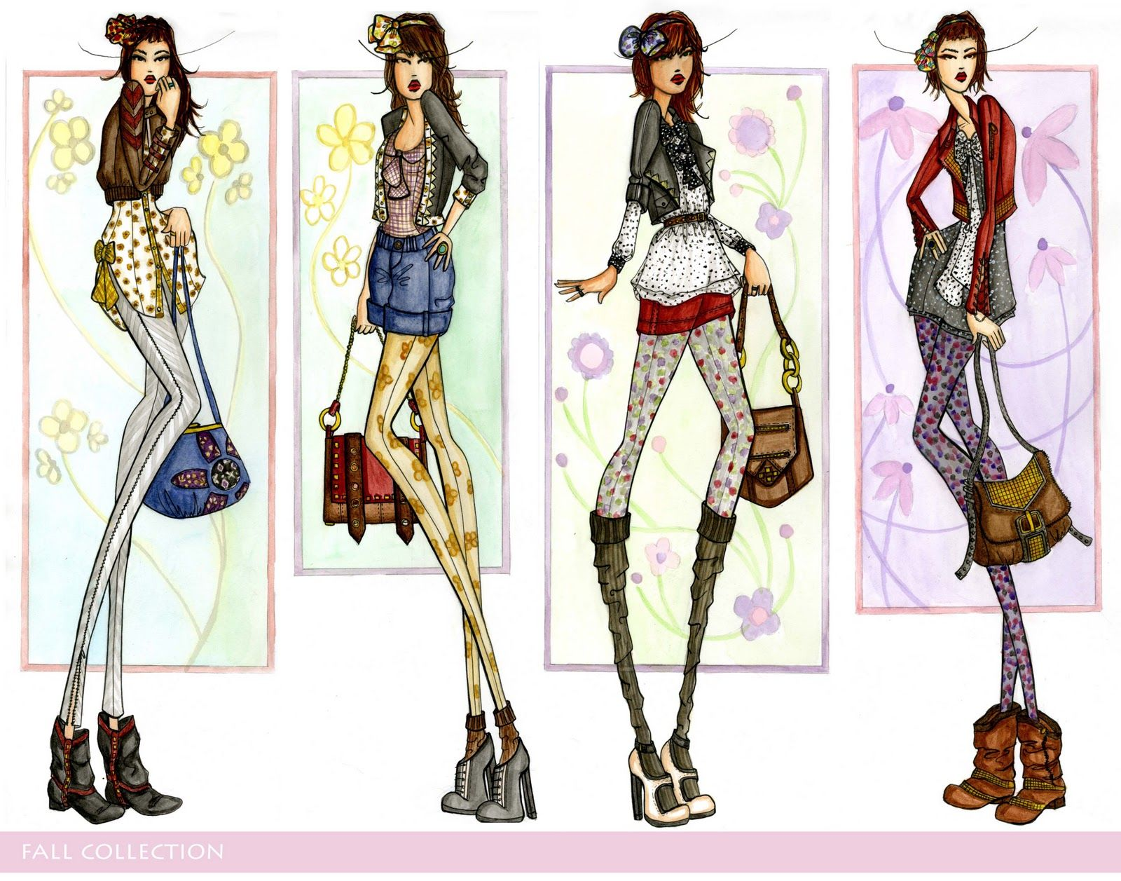 10 Tips To A Great Fashion Portfolio Searching For Style 88