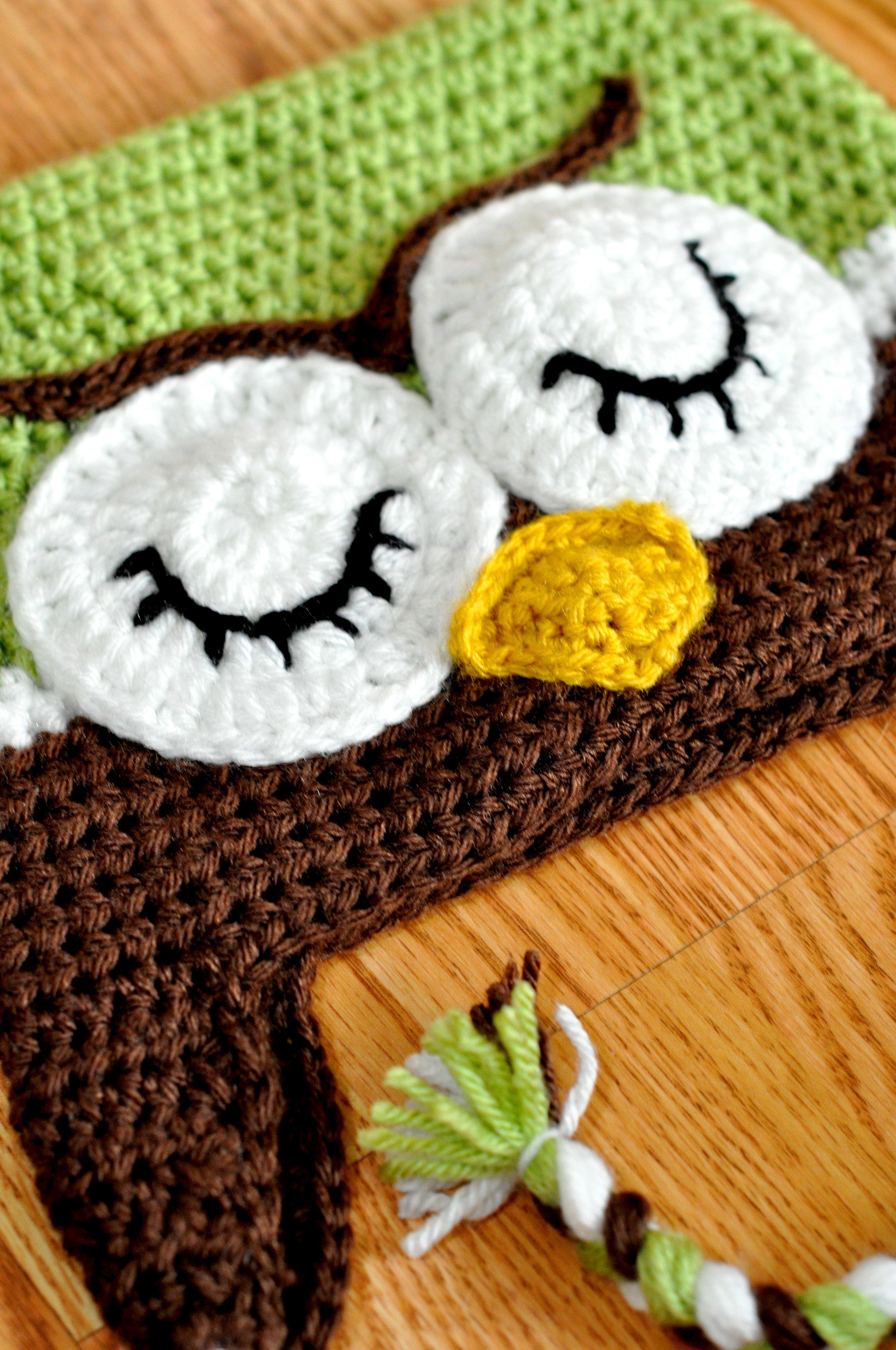 Crochet Owl Hat : Crochet Owl Hat Crochet Inspiration Pinterest