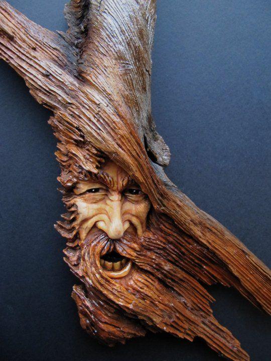 Beautiful wood carvings on pinterest tree
