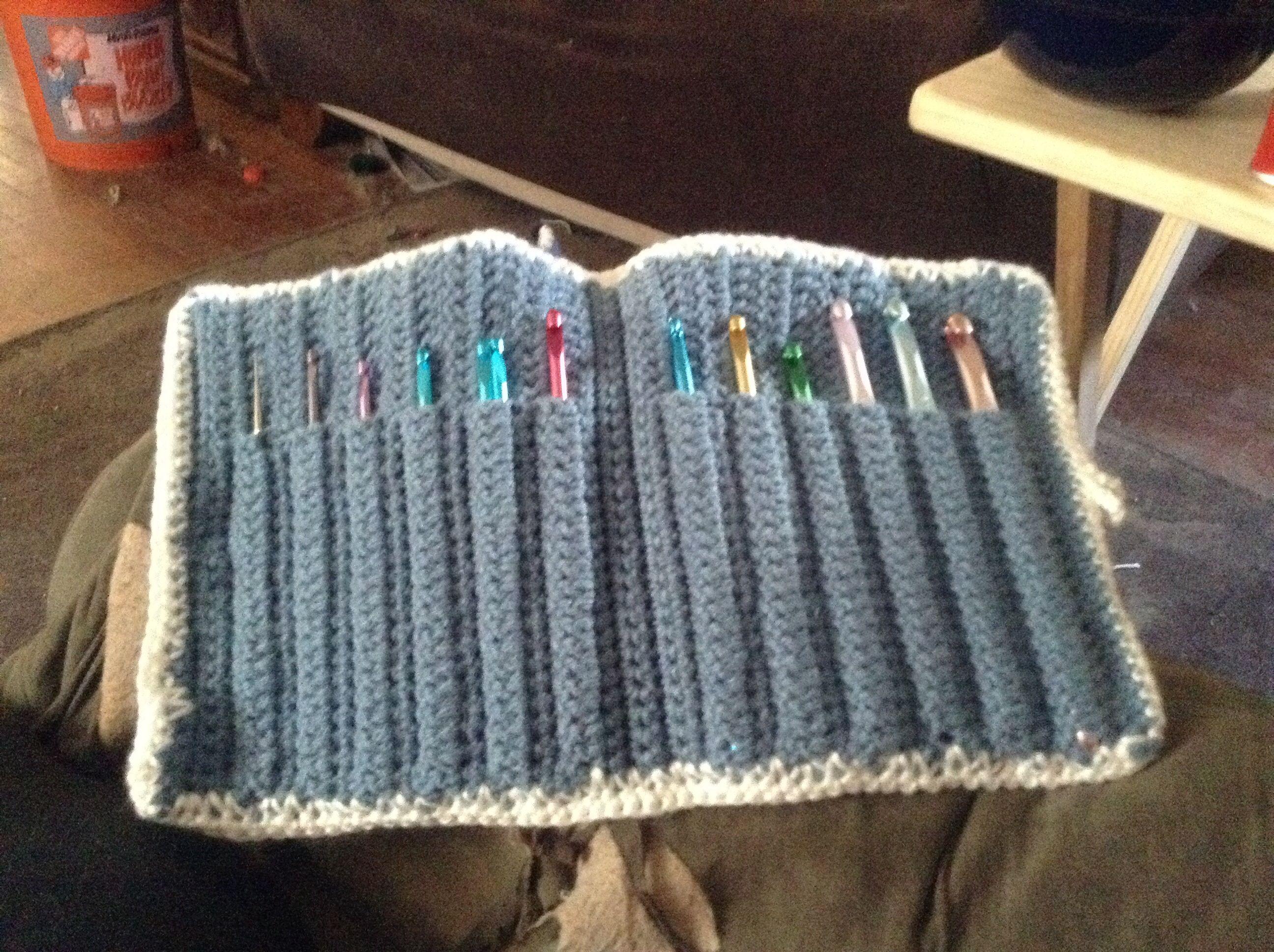 Crochet Hook Case : Crochet hook case Crochet Hooks for Beginners Pinterest