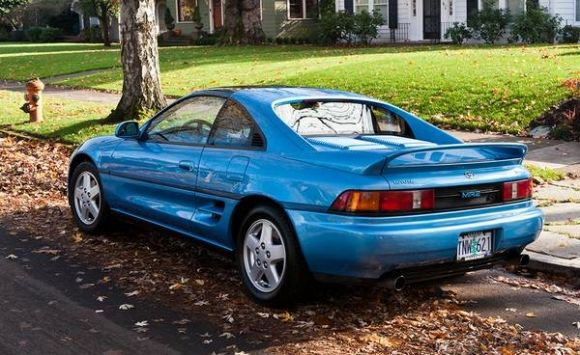 1995 Toyota Mr2 Blue | 200+ Interior and Exterior Images