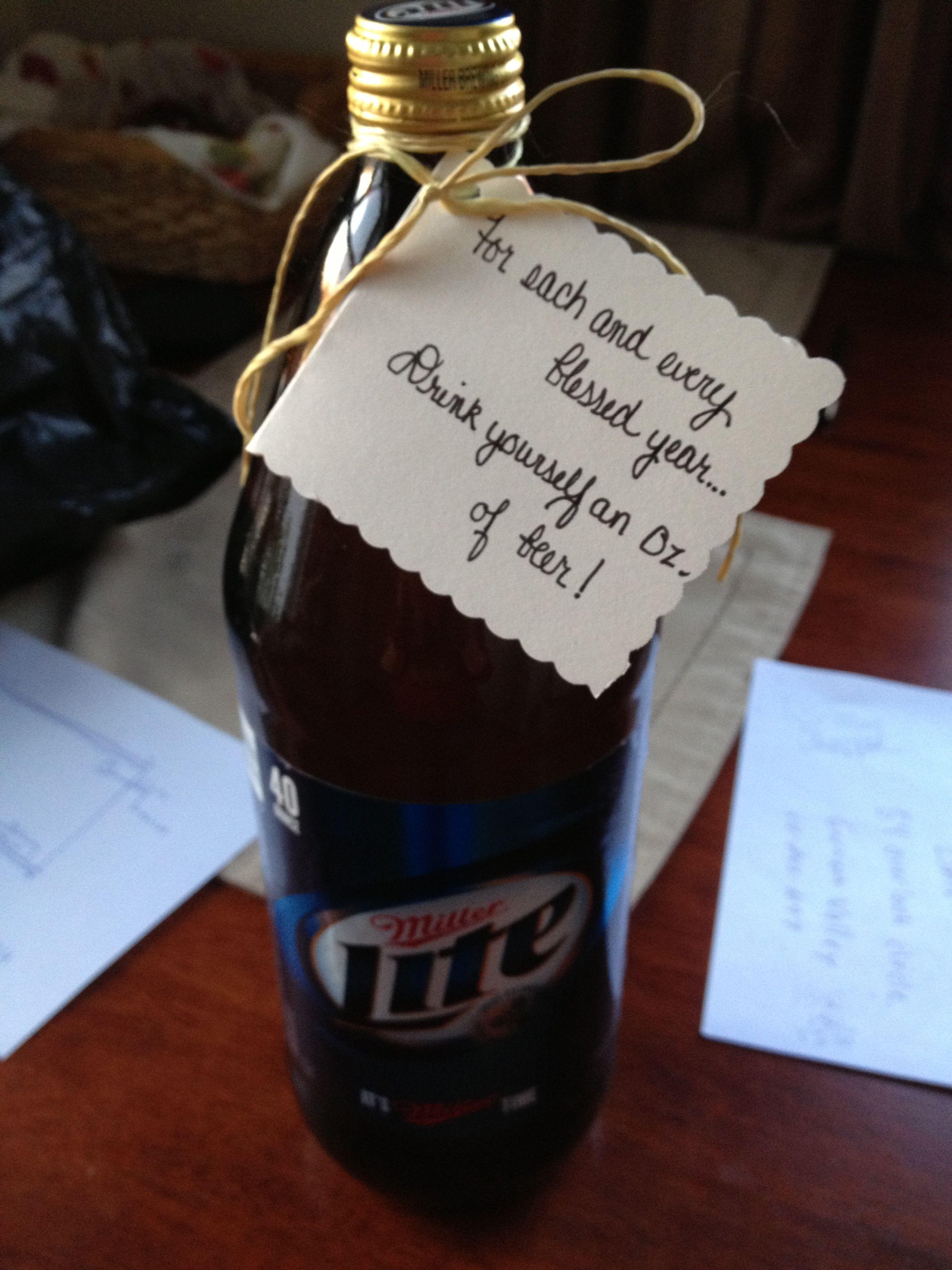 40th birthday adult gag gifts