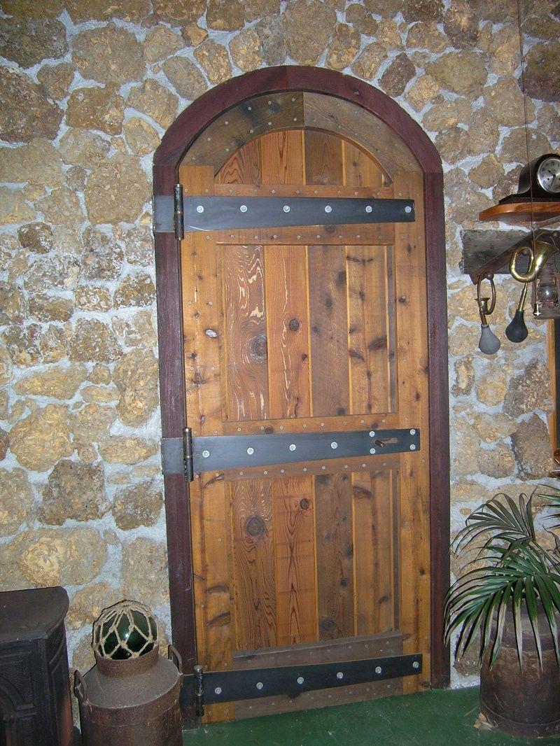 Rustic door rustic western pinterest for Rustic exterior doors