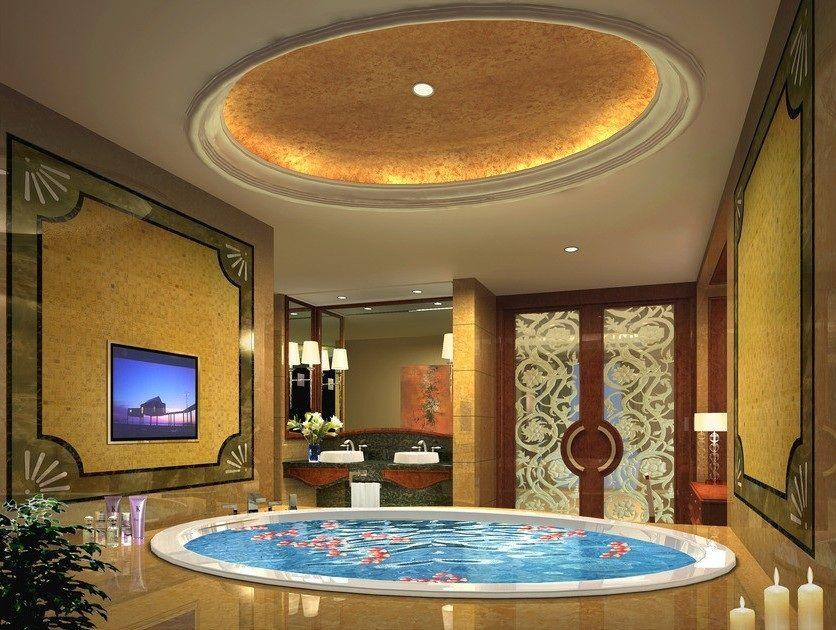 Luxury Hot Tub Spa Luxury Interiors Pinterest