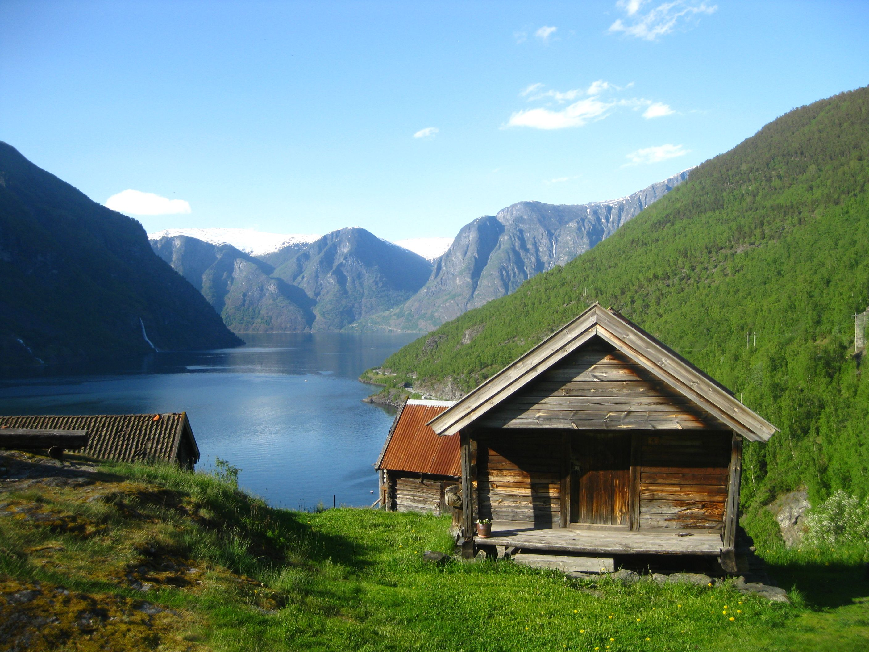 Cabin In Norwegian Wilderness Dream Abode Pinterest