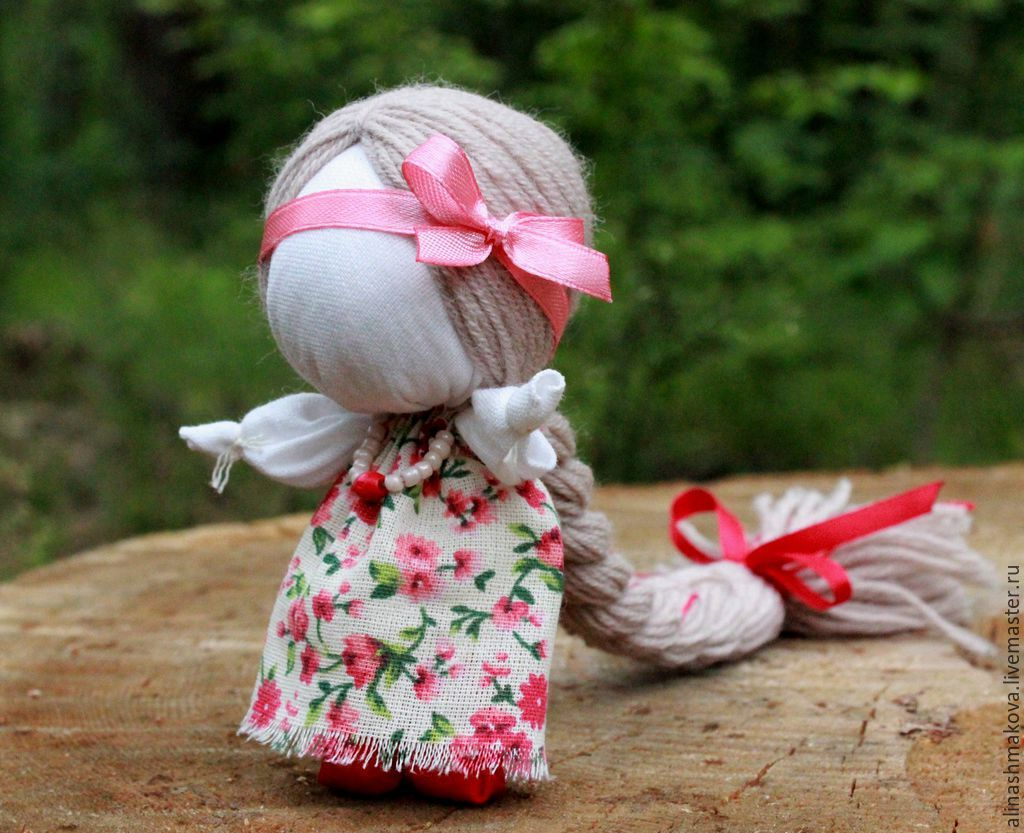 Кукла счастья своими руками мастер класс