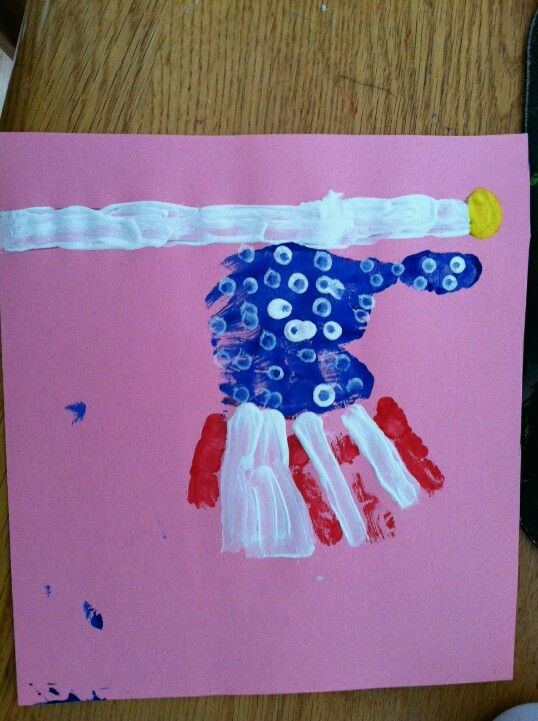 flag day crafts preschoolers