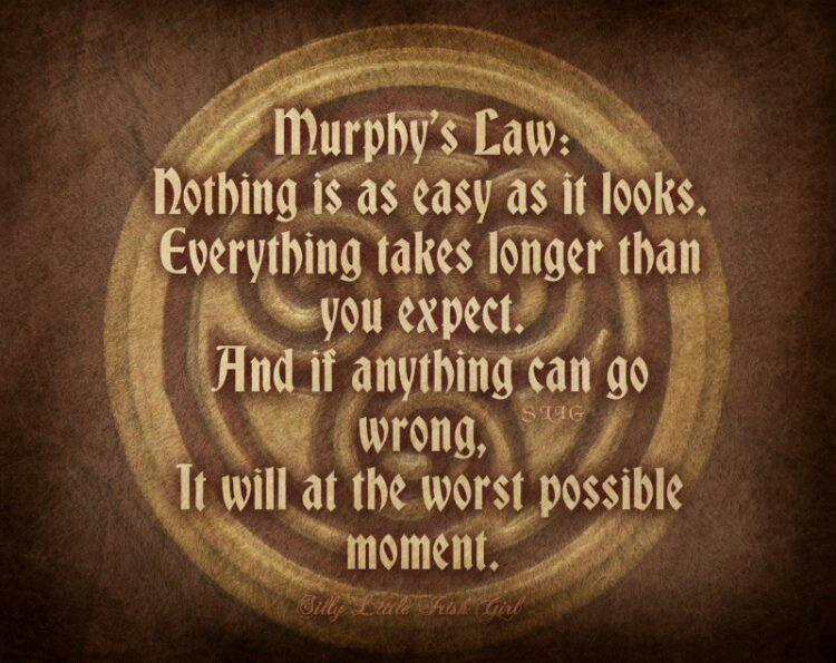 Murphys Law | Oh , yeah | Pinterest