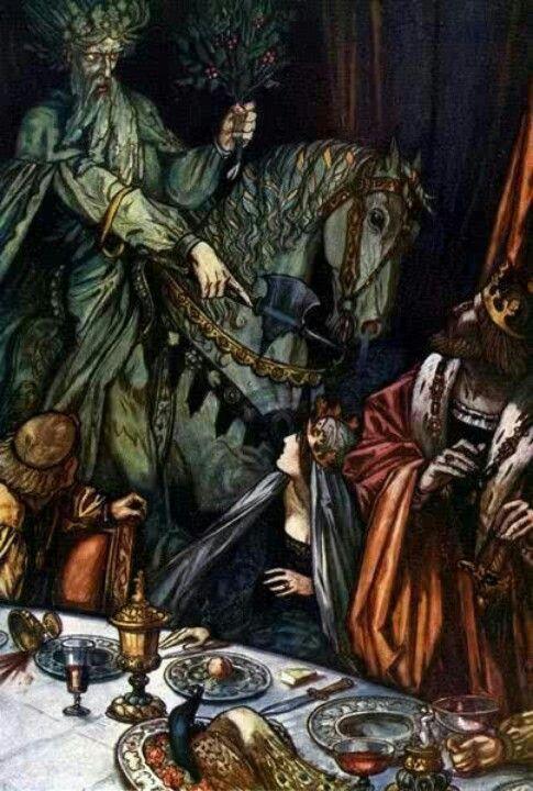 Sir Gawain and The Green Knight - Sir Gawain essays
