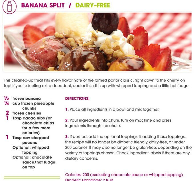Banana Split Bombe Recipes — Dishmaps