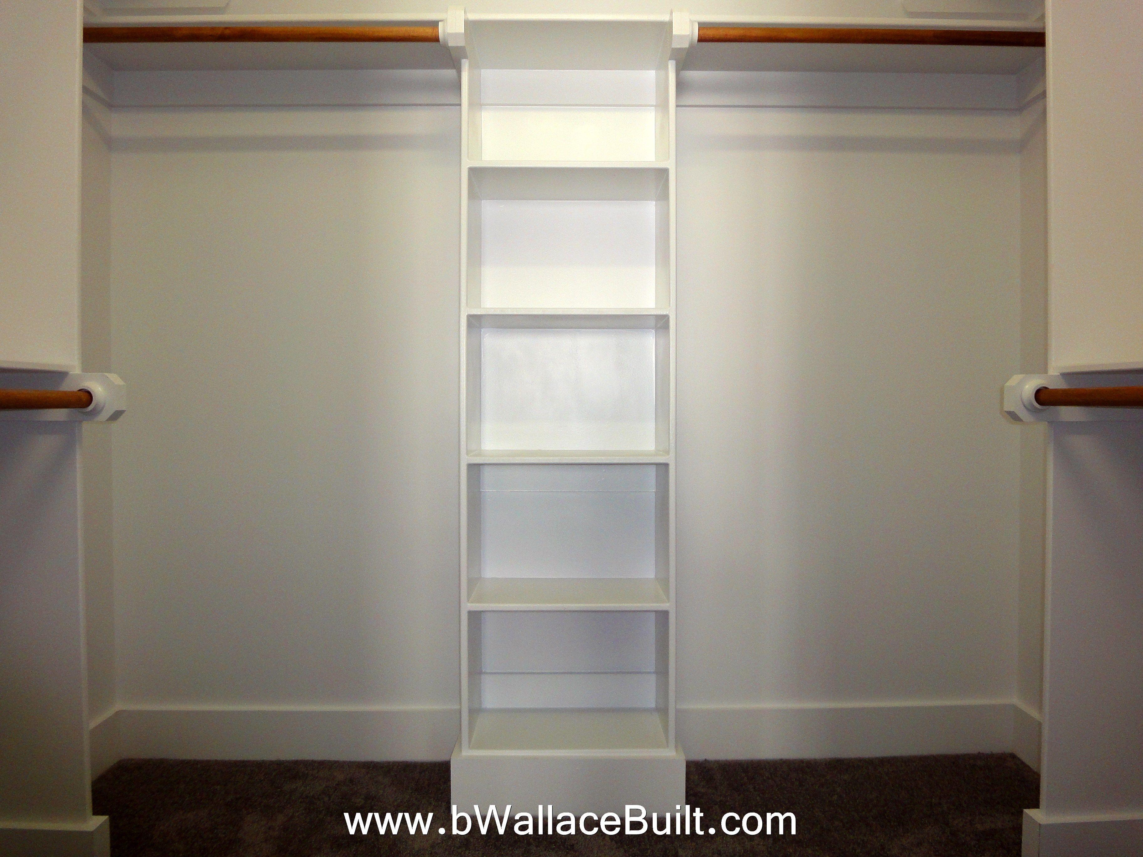 Custom Wood Closet Shelving Diy Pinterest